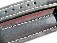 Breitling Band 621X 19mm 19/16 115/75 Kalb schwarz black negra Calf Strap 047-19