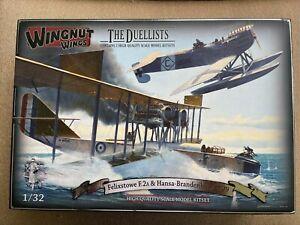 1/32 Wingnut Wings 32801 FELIXSTOWE F.2A & HANSA-BRANDENBURG W.29 - The Duelists
