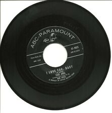 "Paul Anka-I Love You, Baby/Tell Me That You Love Me-45 RPM-7""-single-rock-vinyl"