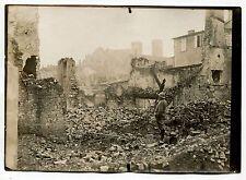 Photo - Guerre 14/18 - WW1 - Verdun La Citadelle - Tirage argentique d'époque -