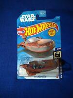 2021 Hot Wheels #12 Screen Time-Star Wars 2/10 X-34 LANDSPEEDER Brown ♊ F.F.SHIP