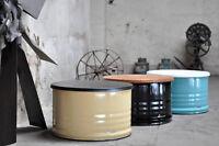 Fass Tisch Couchtisch aus 200 Liter Neu Fass Fassmöbel - Beschichtung nach Wahl