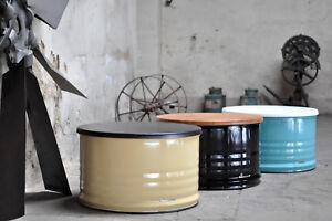 Fass Tisch Couchtisch aus 200 Liter Neu Fass Fassmöbel Barrel - Farbe nach Wahl