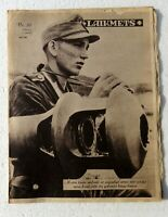 WW2 German Ost Magazine Laikmets Lettland 1944/36 Wehrmacht soldier Comb.ship!!!