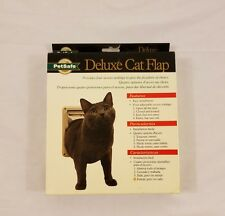 PetSafe Training Systems Deluxe Cat Door Flap P1-4W-11  New In Box