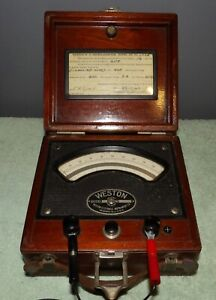 Weston Electric Microammeter D.C. Model 322 No. 1564