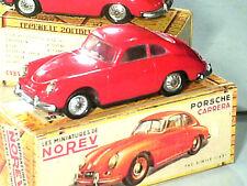 PORSCHE CARRERA 1500 : VRAIE NOREV ORIGINALE 1963 (3éme version) RARE ROUGE