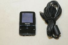 PHILIPS GoGear ViBe 4gb Black MP3 video player SA1VBE04K/17