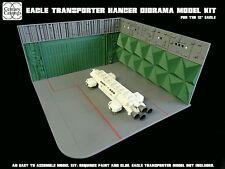 Space 1999 eagle transporter hangar model kit