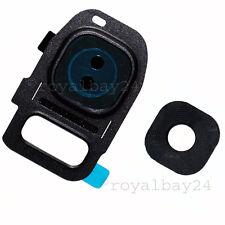 Samsung Galaxy S7 Kamera-Linse schwarz Glas-Scheibe Rahmen Camera-Lens G930 F