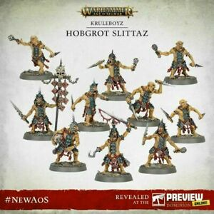 10x Hobgrot Slittaz - Age Of Sigmar Dominion Warhammer Kruelboyz