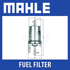Mahle Fuel Filter KL156/1 - Fits Seat, Skoda, vw - 3 Bar