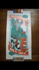Phish Otto Poster Worcester Ma 2012 Bag It Tag It Print Pollock Out Of 100
