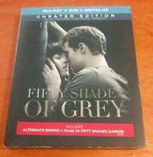 Fifty Shades of Grey Unrated Edition Blu-ray Dakota Johnson  Jamie Dornan