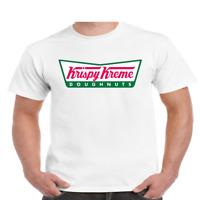 Krispy Kreme Donuts Doughnuts Logo Ringer Unisex Short Sleeve T Shirt