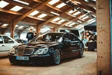 MERCEDES BENZ S CLASS S430L LPG GAS W220 LWB VIP AIR RIDE LOWERED MODIFIED
