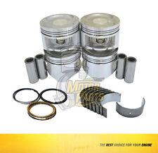 Rod,Piston & Ring Set Fits 90-95 Honda Isuzu Oasis Accord 2.2 L Sohc F22A1