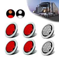 4inch Round Led Stop/Tail Light Outer Turn/tail Brake/Reverse Rear Light Kit Car