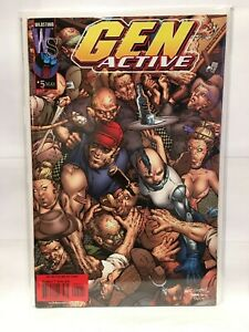 Gen Active #5 VF/NM 1st Print Wildstorm Comics 2001
