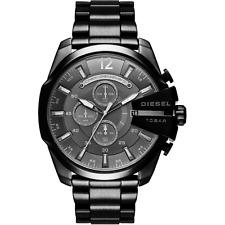 Orologio DIESEL mod MEGA CHIEF ref DZ4355 Uomo in acciaio Ip nero chronografo