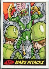 Mars Attacks Heritage Sketch Card By Puis Calzada