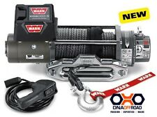 Warn XD9000S winch with Spydura synthetic rope [CEXD9000-88550]