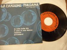 """JENNY LUNA/MINA""""LE MILLE BOLLE BLU- disco 45 EP(4 brani) giri FABBRI It 1975"""""""