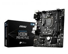 MSI Pro M2 Plus Intel H310 Micro ATX DDR4-SDRAM Motherboard