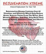 Rejuvenation Xtreme mineral replacement for flowerhorn and other freshwater fish