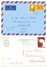 NEDERLAND-S.M.N. 1967  = M.S. REMPANG = 2 x ( COVER + AK ) ...