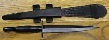 William Rodgers Fairbairn Sykes Commando Knife Black Sheffield England 180Bmod