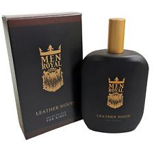 Men Royal Eau de Toilette Leather Wood Duft: Markantes Leder & herbes Holz /Mann