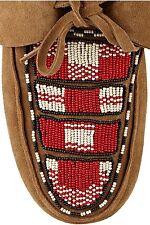 Isabel Marant Abelia Nubbuck Beaded Moccasins.  NEW Without box. FR 36
