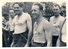 WW2 Militaria Foto Nackt Jungen Boy Erkennungsmarke