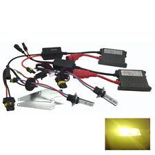 Front Fog Light H11 Pro HID Kit 3000k Yellow 55W Fits BMW 1 3 X3 Z4 RTHK2917