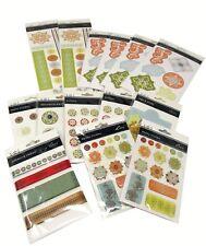Bulk Lot #42 S.E.I. Oasis Scrapbook Stickers Die-Cuts Brads Tags + 156 pcs
