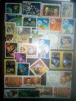 Weltraum Raumfahrt Briefmarken Space Stamps Sellos Timbres