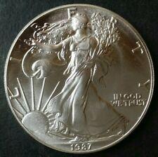 1987 $1 American Silver Eagle Dollar