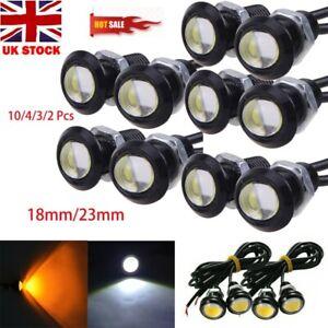 18mm 12V Eagle Eye LED Daytime Running DRL Fog Backup Light Motorcycle Car Lamp