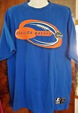 Team Starter XL Authentic Florida Gators Blue Orange Short Sleeve T-Shirt