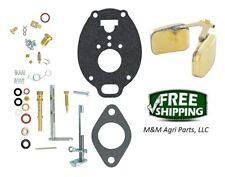 Complete Carburetor kit & Float John Deere M MC MT 40 320 330 Tractor - TSX245