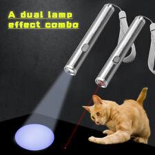 Funny Cat LED Light Laser Pointer Pen Interactive Kitten Pet Play Toys Training