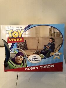 Disney Toy Story Comfy Throw Blanket w/Sleeves - Kid/Youth - TO THE RESCUE-NEW!