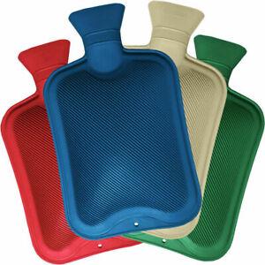 2 Litre 500ml Hot Water BottleBritish Standard  Natural Rubber Winter Warmer Sma