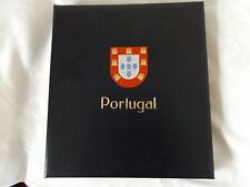 DAVO LUXURY ALBUM WITH CLEAR MOUNTS FOR PORTUGAL WITH OVER 200 M&U STAMPS