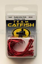 TEAM CATFISH Double Action Circle Size 8/0 Value Pack 11 Hooks TC84VP