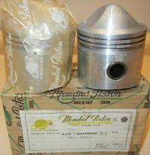 "1956 Matchless G9B 545cc NOS 69mm +.080"" Italian Mondial #1482 PAIR pistons -124"