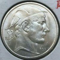 1954 Belgium 50 Francs - Belgique - Beautiful Uncirculated