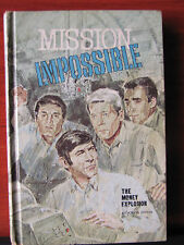 Mission Imposible -The Moeny Explosion 1970 HC childrens TV book