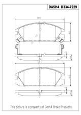 Disc Brake Pad Set-CERAMIC PADS Front Dash 4 Brake CD334
